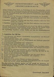 Zuendapp-Kundendienst-Inspektionskarte-6-67-1967-Deutschland-service-card-Zundapp