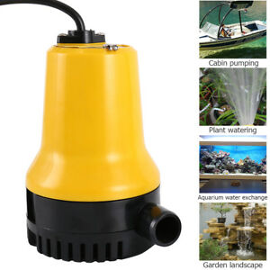 DC12V-24V-50W-Submersible-Miniature-Water-Pump-Clean-Clear-Dirty-Pool-Pond-Flood