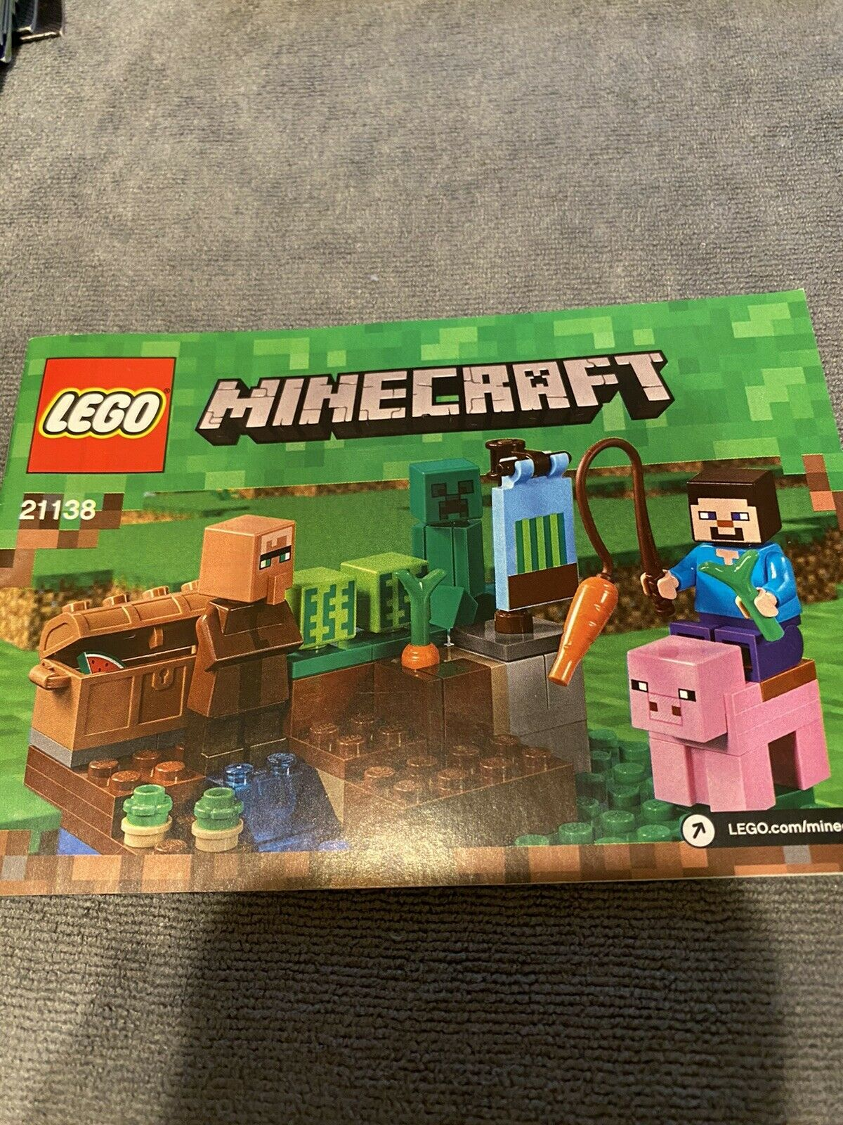 Lego 21138 Minecraft The Melon Farm For Sale Online Ebay
