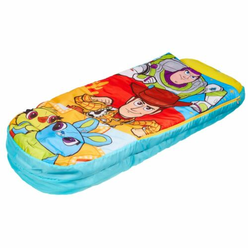 KIDS CAMPING NEW TOY STORY 4 JUNIOR READY BED SLEEPOVER SOLUTION