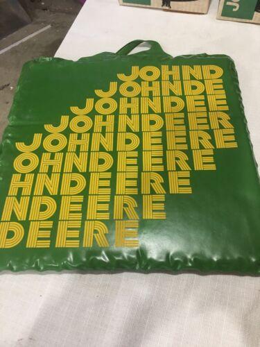 Vintage John Deere Stadium Seat Cushion Pad