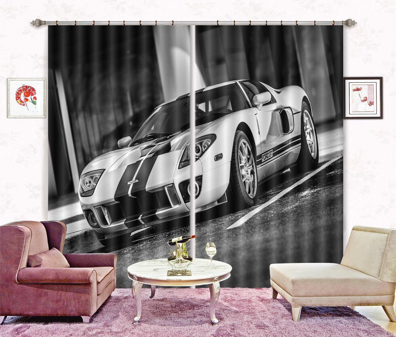 3d blancoo auto 3265 bloqueo foto cortina cortina de impresión sustancia cortinas de ventana