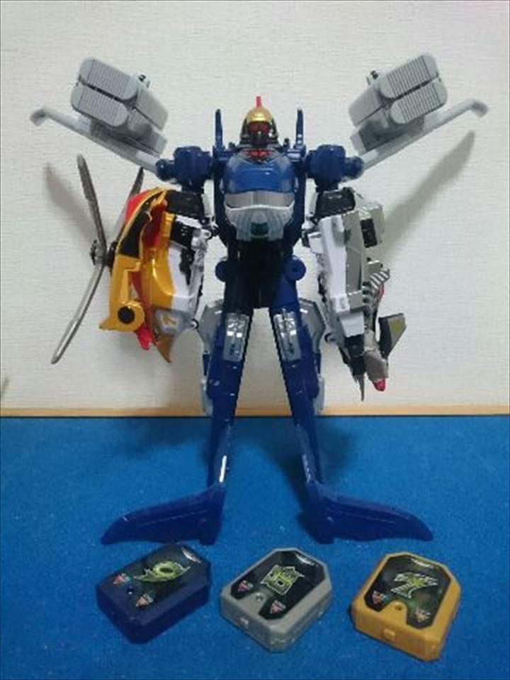 barato y de alta calidad Power Rangers Engine Go-onger DX Seiku-Oh Rpm Mach Megazord Megazord Megazord ballena toriptor Japón  más vendido