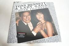 "LADY GAGA & Tony Bennett Cheek To Cheek VINYL RECORD PROMO 12"" LP SEALED NEW"