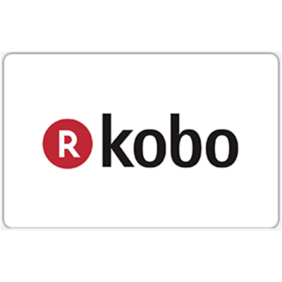 Kobo Gift Card $10 $25 or $50 - Fast Email Delivery