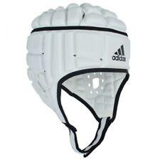 665b6caa232 Adidas Rugby Headguard Black White IRB Head Guard Protection Gear Scrum Cap