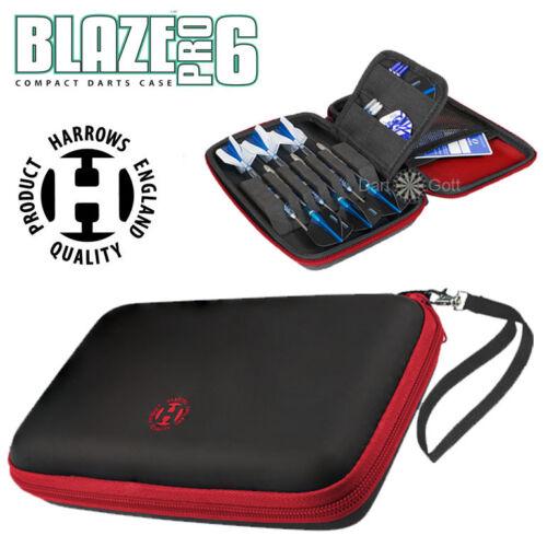 HARROWS Darttasche Blaze Pro 6 Dart Tasche für 6 Darts Dart Etui in 4 Farben