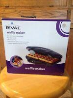 Rival Waffle Maker 16140