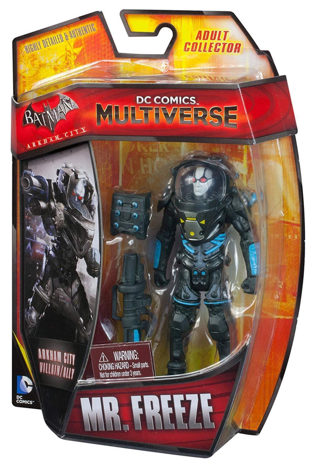DC Comics Multiverse Arkham City Mr. Freeze Figura