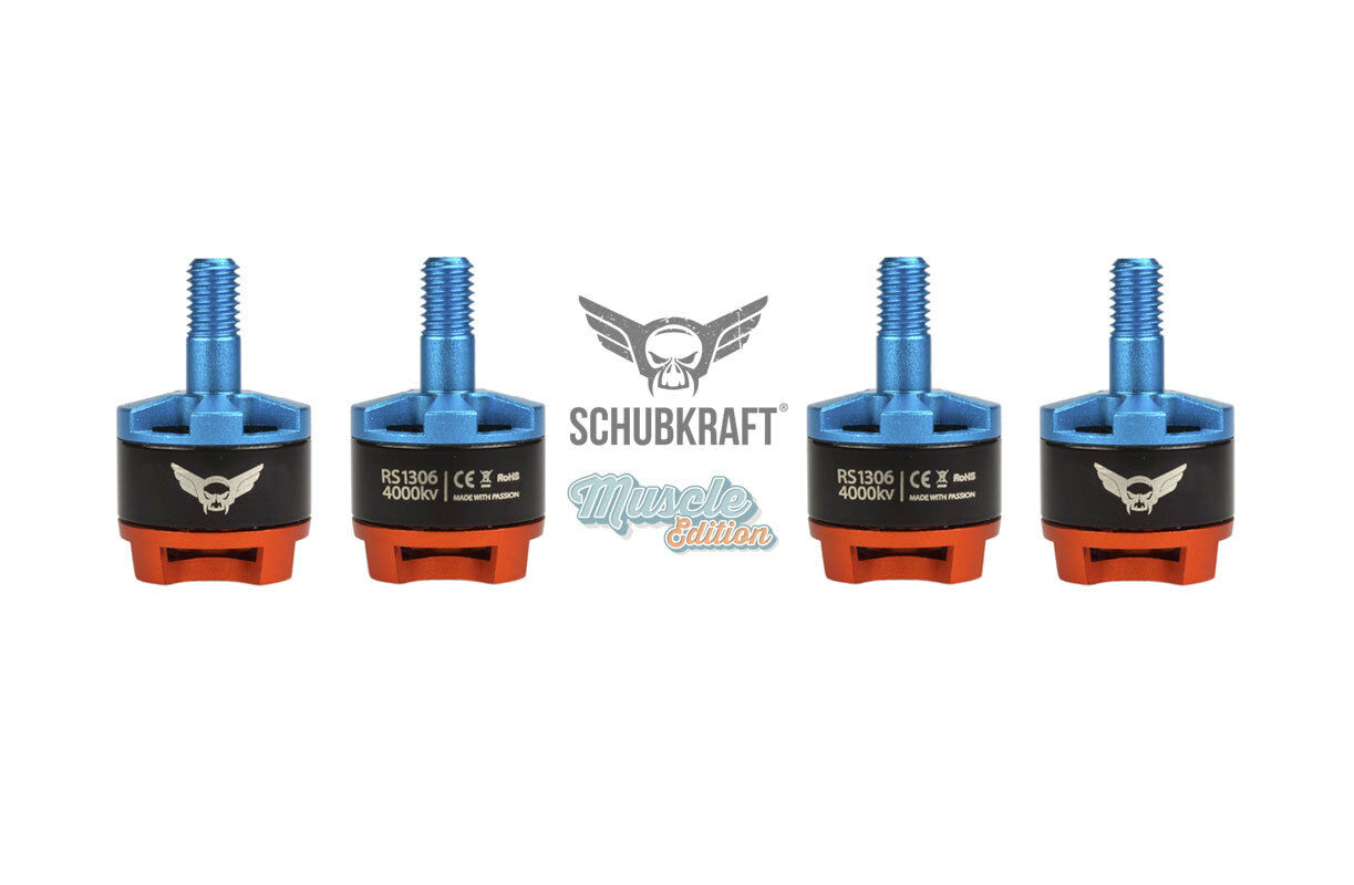 Spinta motori  rs1306 4000kv 2-4s per FPV RACING Quadcopter blheli S KISS  ordina adesso