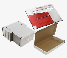 C5 A5 White Large Letter Boxes Easy To Fold Pip Royal Mail Post Various Amounts