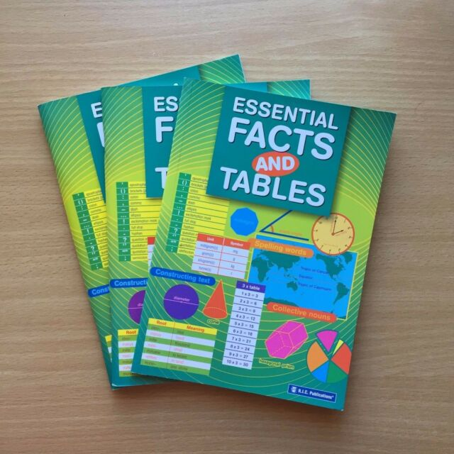 Essential Facts and Tables by RIC Publications Pty Ltd (Paperback, 2005)