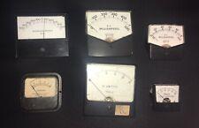 Vintage Steampunk Electrical Gauge 6 Pc Lot Set 3