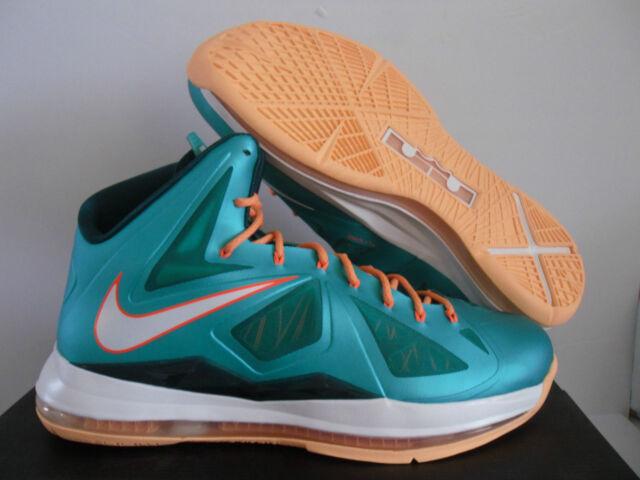Nike Lebron 10 / X Miami Dolphins Teal