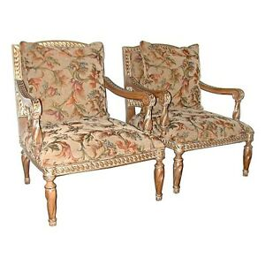 Pair-of-20th-C-Upholstered-Armchairs-5602