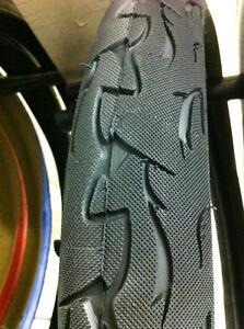"29/"" x 3.0 Bike tire All Black Cruiser Chopper BMX Bicycle"