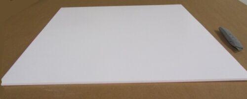 """1//4/"""" .250/"""" x 24/"""" x 24/"""" White Teflon PTFE Virgin Sheet"""