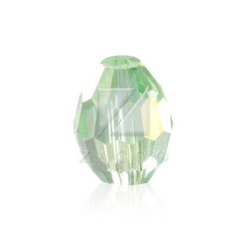 72pcs Faceted Loose Rice Crystal Spacer Beads Charms Jewellery Making 6x9mm Lots