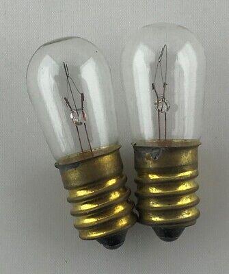 PYGMY Lamp 15 Watt Bulb LOW VOLTAGE E14 12Volt 12V PILOT 2x 15W SES