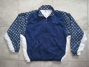 Vintage NIKE White Tag Blue Star Pattern Windbreaker HIPHOP Jacket ... 6e2e183dd