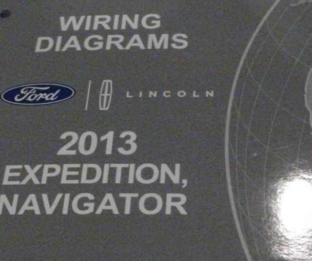 2013 Ford Expedition  U0026 Lincoln Navigator Wiring Diagrams