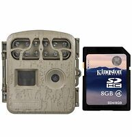 Moultrie Spy Micro Trail Hunting Game Camera + Memory Card | Mcg-13034 + Sd4-8gb on sale