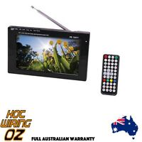 7 Inch Portable Television Digital Hd tuner And Usb Pvr Digital In-vehicle Tv