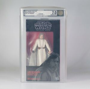 2017 [AFA 7.0] Star Wars Black Series Luke Skywalker Jedi Master #46