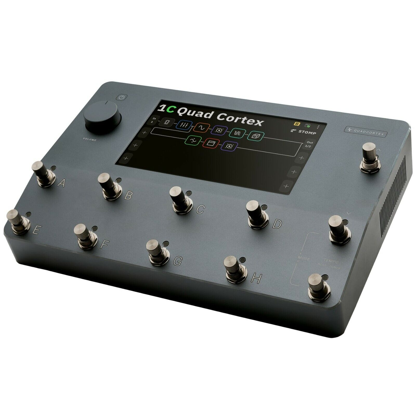 Neural DSP Quad Cortex Digital Effects Modeler/Profiling Floorboard. Available Now for 3000.00