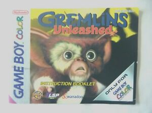58565-Instruction-Booklet-Gremlins-Unleashed-Nintendo-Game-Boy-Color-CGB