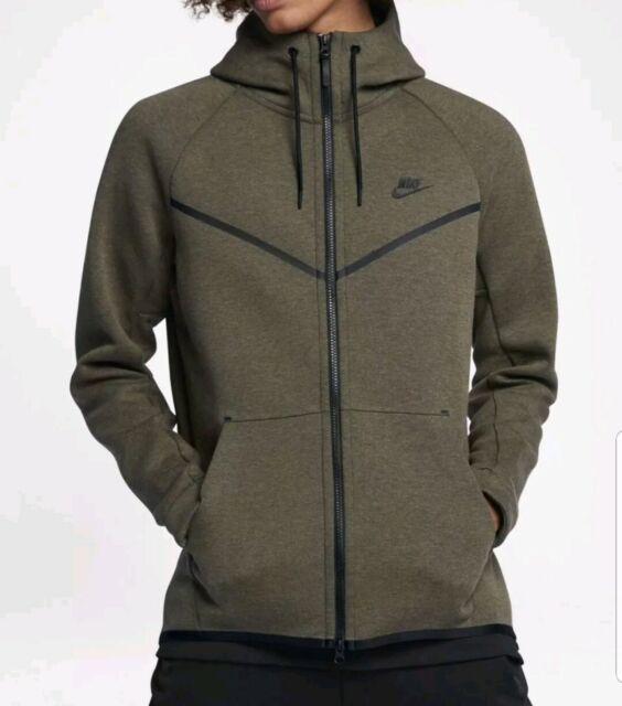 Departamento Empleado hostilidad  Nike Tech Fleece Windrunner Zip Hoodie (Green) - Small - New ...