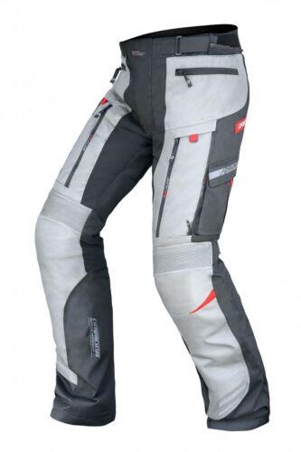 3XL Mens DriRider Vortex Grey Adventure Pants All Seasons Motorbike RRP$349