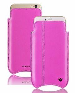 Apple-iPhone-8-7-carcasas-Rosa-Cuero-Real-nuevue-AUTOLIMPIEZA-Funda-FUNDA
