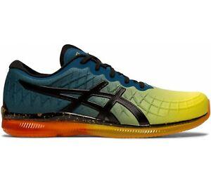 Asics-Men-039-s-Gel-Quantum-Infinity-Shoes-NEW-AUTHENTIC-Yellow-Black-1021A171-750