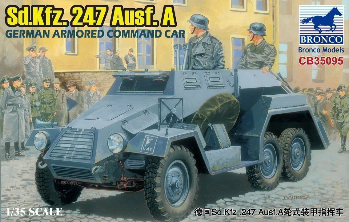 Bronco 1 35  CB35095 Sd.Kfz.247 Ausf.A German Armored Command Car