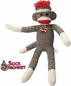 Red Heel Monkey Socks