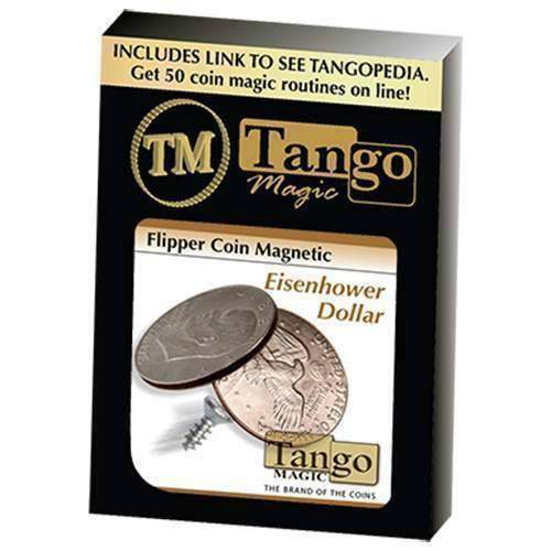 Flipper Coin Magnetic Eisenhower bambolaar  by Tango - Magia con monete  vendita di offerte