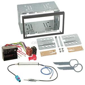 vw polo 9n3 05 08 2 din autoradio einbauset adapter kabel. Black Bedroom Furniture Sets. Home Design Ideas