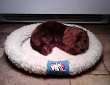 Perfect Petzzz Realistic Battery Operated Sleeping Breathing Puppy Dog