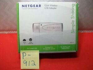 BRAND NEW NETGEAR WG111 G54 WIRELESS USB ADAPTER FOR DESKTOPS & NOTEBOOK PC's