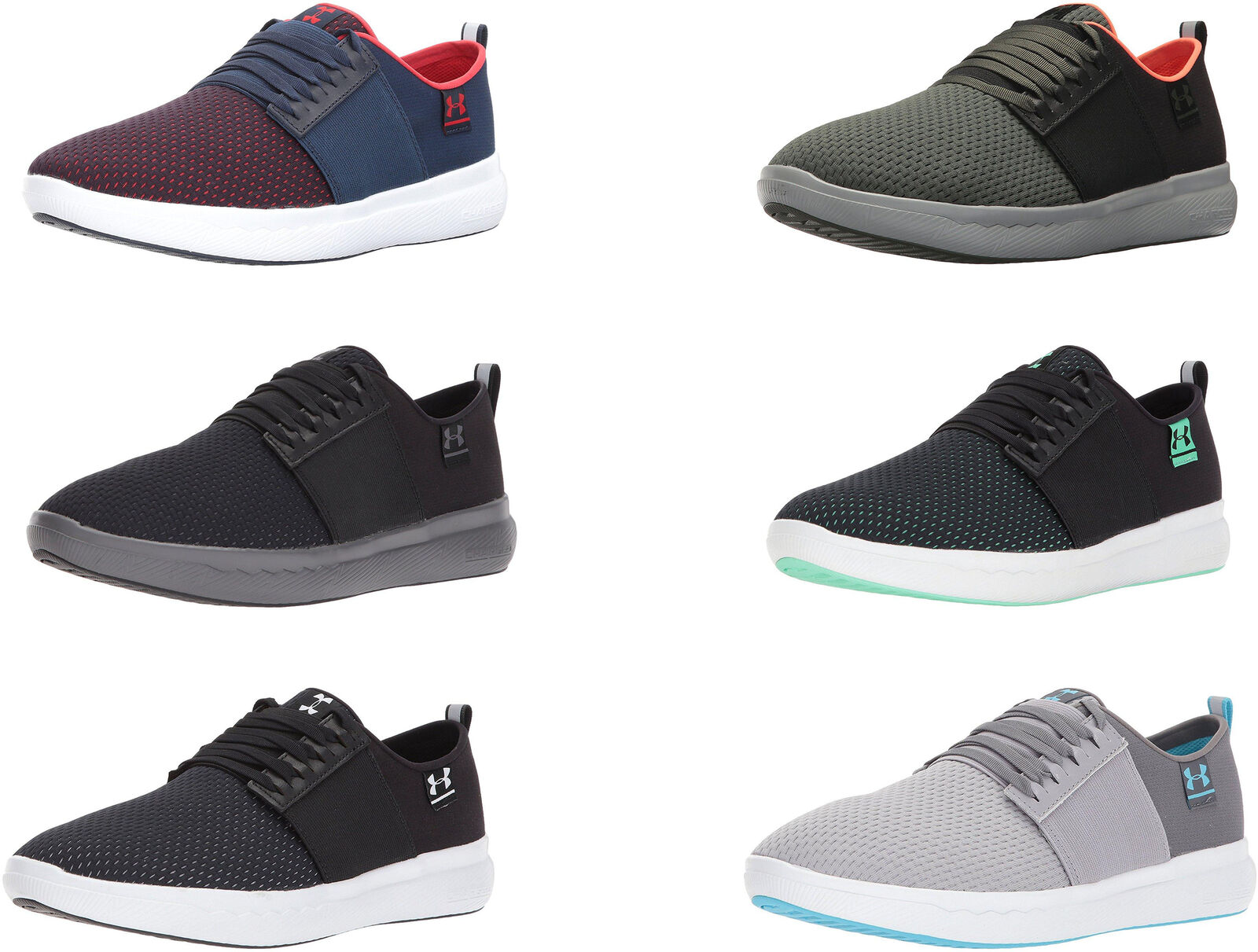 cheap for discount f2d92 180f6 Details about Under Armour Men's Charged 24/7 NU Shoes, 6 Colors