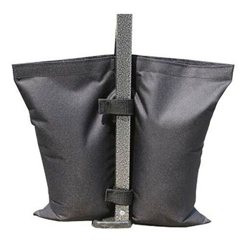 Portable Tent Sandbag Weighted Fixing Bag Black Oxford Cloth Fixed Sand Bags HY