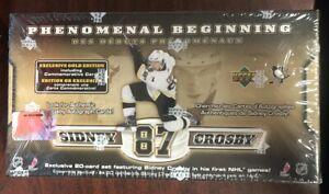 2005-06 UD ROOKIE PHENOMENAL BEGINNING Sidney Crosby BOX 20 CARD SET NEW SEALED