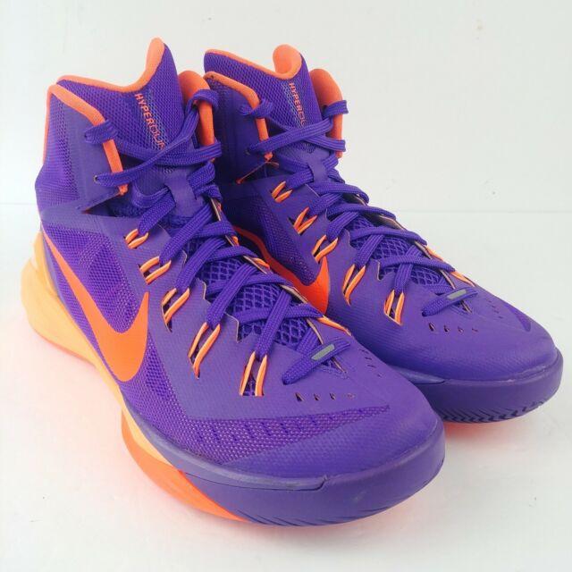 Nike Hyperdunk 653640-588 Mens Basketball Shoes Sneakers Size 9 Purple  Orange