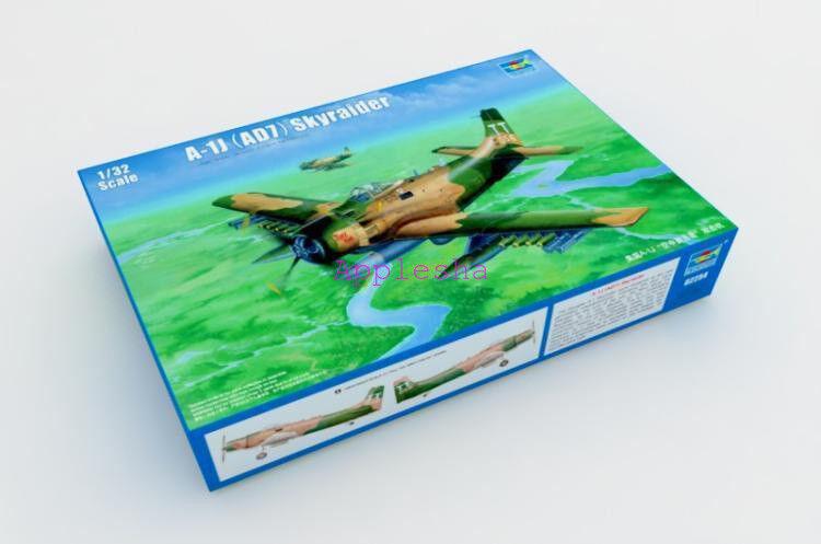 Trumpeter 02254 1 32 A-1J AD-7 Skyraider