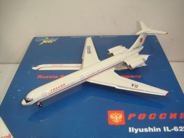 Gemini Jets 400 IL-62M empresa de transporte estatal Rossiya Rusia  1990 Coloreees  1 400