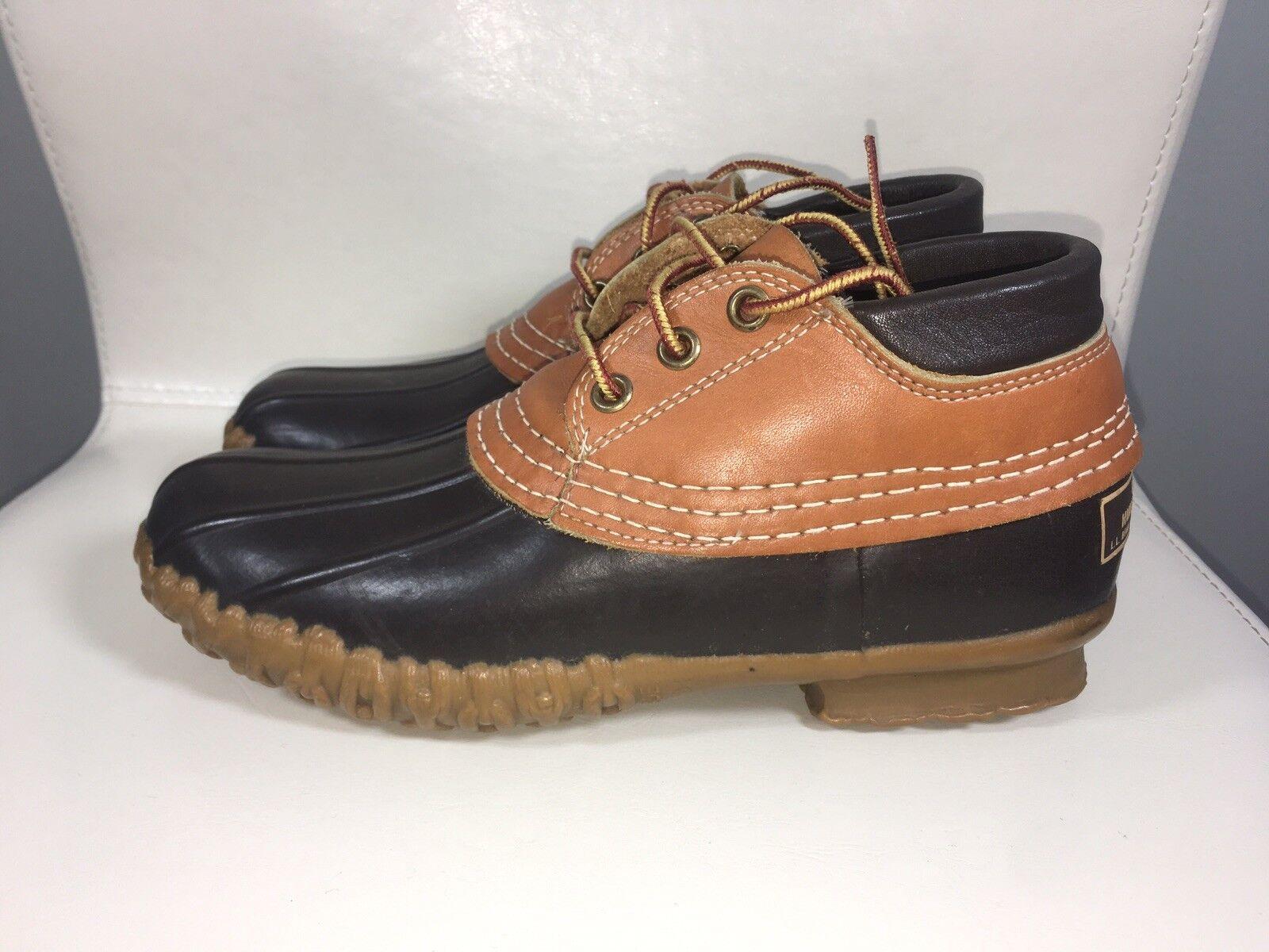 più economico Vintage MAINE HUNTING scarpe L.L. BEAN Gumshoe Padded Collar Collar Collar Duck stivali Uomo 6  molte sorprese