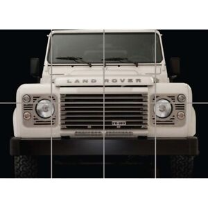 Land-Rover-Defender-Old-Off-road-Car-Giant-Wall-Mural-Art-Poster-Print-47x33-034