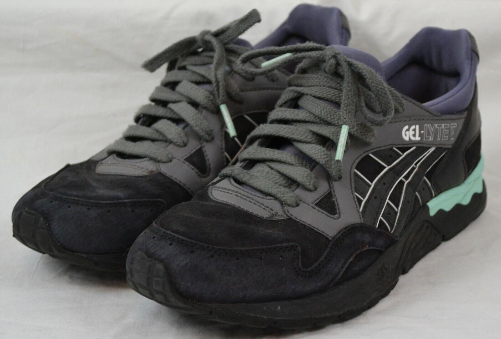 Asics Gel Lyte V Lux Sneaker EU 39 schwarz mint hellgrün dunkelgrau h6d4l 9090