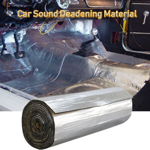 Car Insulation Sound Deadening Heat Shield Thermal Noise Proof Mat 80''x 39''